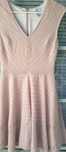 Pink Eyelet Skater Dress